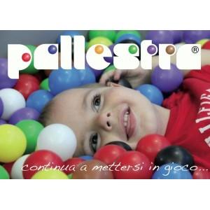 500 Palline Pallestra® in 8 colori